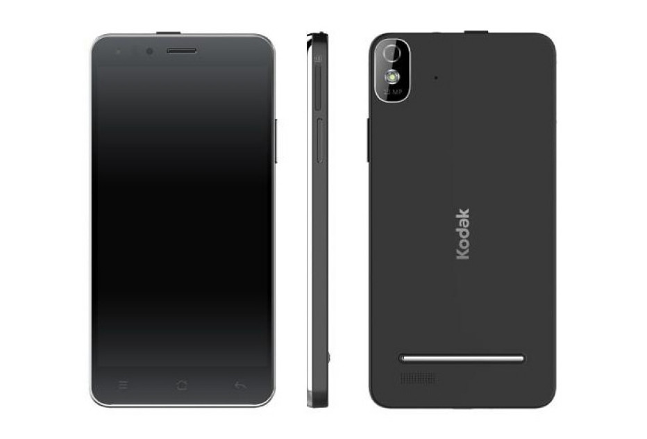 Kodak presents first smartphone