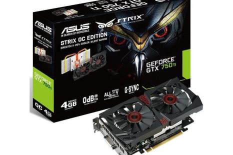 ASUS ups GeForce GTX 750 Ti memory to 4 GB