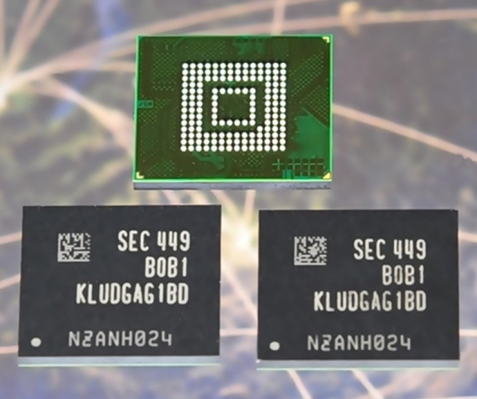 Samsung produces first 128 GB UFS memory for smartphones