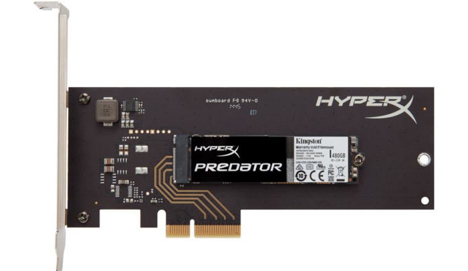 Kingston starts sales of PCIe HyperX Predator SSDs