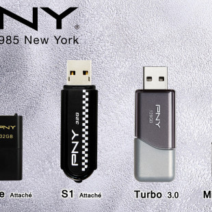 PNY releases Black line of USB flash drives