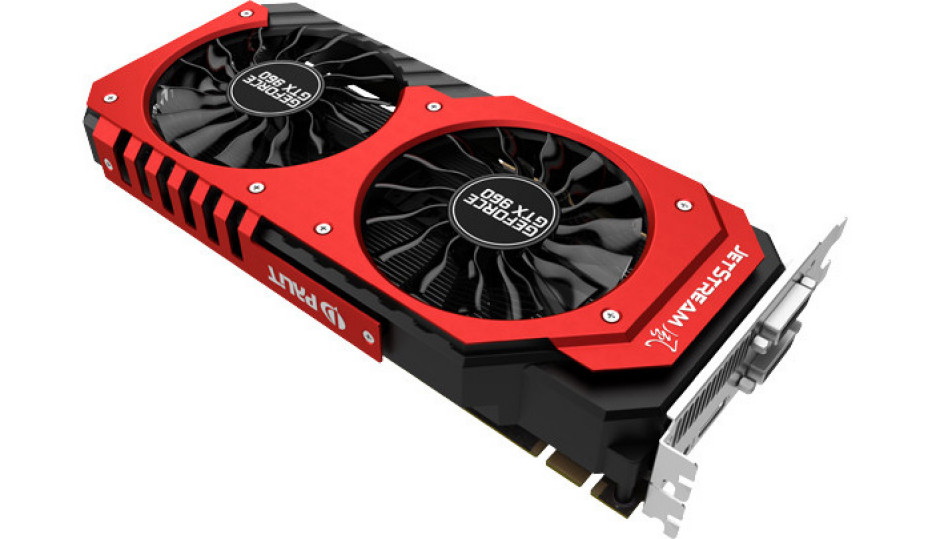 Palit debuts GeForce GTX 960 JetStream video card