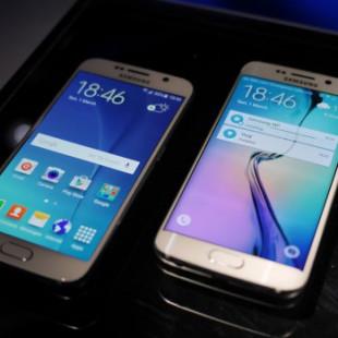 Samsung presents the Galaxy S6 smartphone