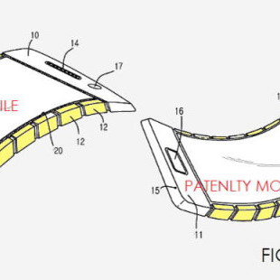 Samsung may produce flexible smartphone one day