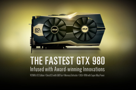 ASUS launches the GeForce GTX 980 Gold Edition video card