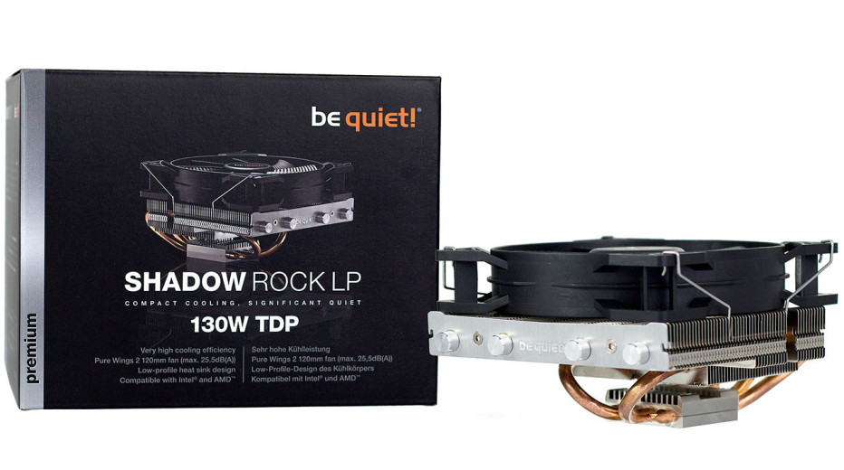 Be Quiet! offers the Shadow Rock LP CPU cooler