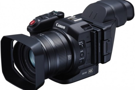 Canon shows two new 4K video cameras