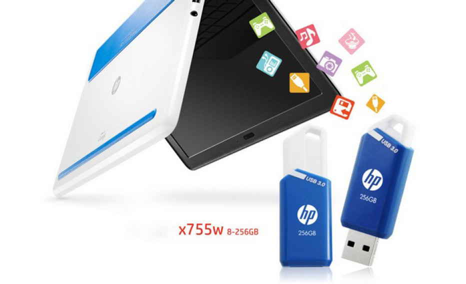 PNY updates HP x755w USB flash drive line