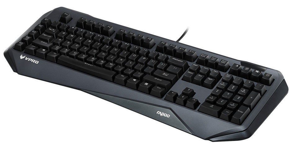 Rapoo debuts the VPRO V800 gaming keyboard