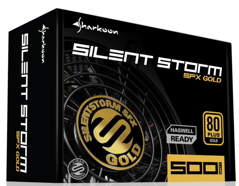 Sharkoon releases PSUs for mini computers