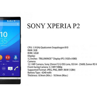 Sony plans Xperia P2 smartphone