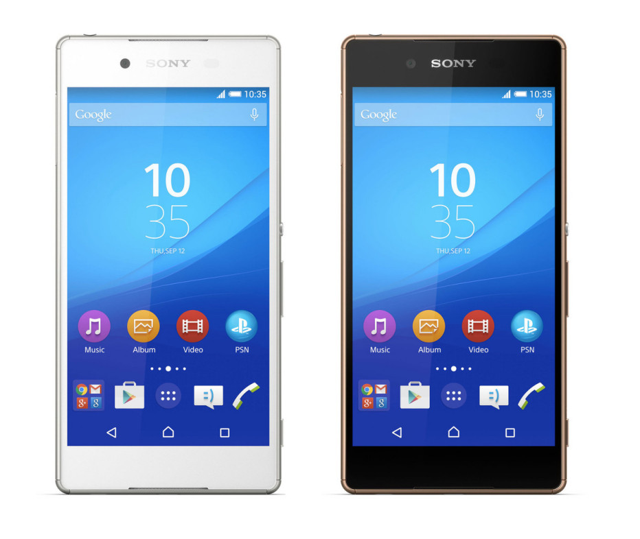 Sony presents the Z4 smartphone
