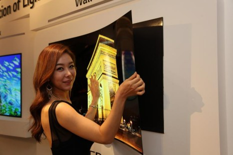 LG presents ultra thin display