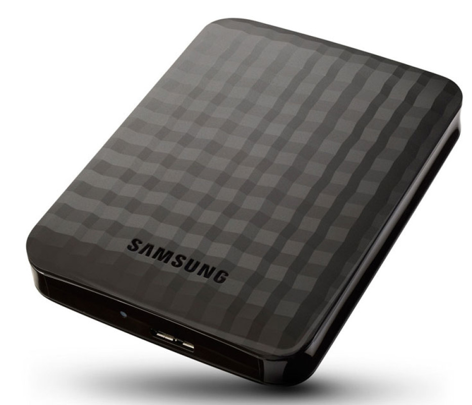 Samsung presents world's thinnest external hard drives