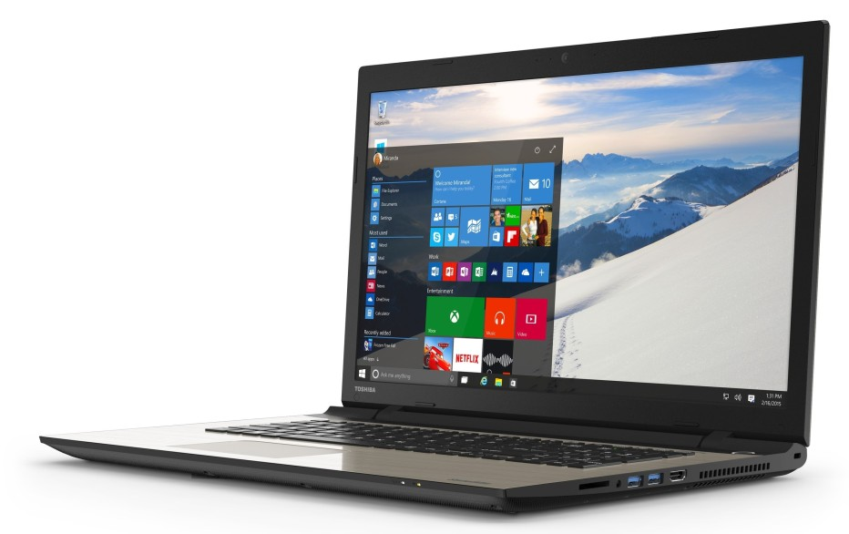 Toshiba introduces Satellite L mainstream notebooks
