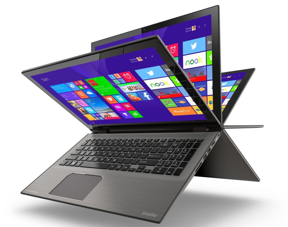 Toshiba debuts new Satellite Radius convertible PCs