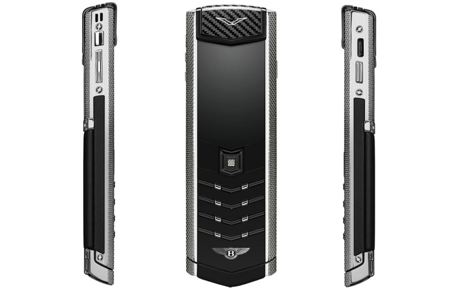 Vertu debuts second phone for Bentley owners