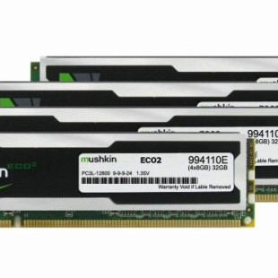 Mushkin intros ECO2 DDR3L memory