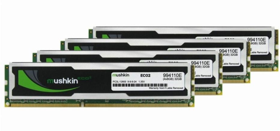 Mushkin intros ECO2 DDR3L memory