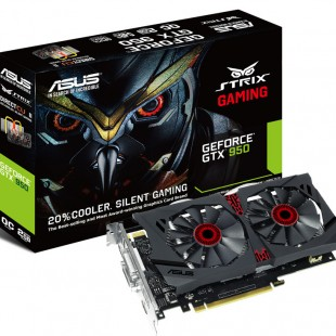 ASUS launches the GeForce GTX 950 STRIX OC video card