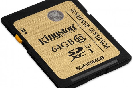 Kingston expands its range of SDXC Class 10 UHS-I cards