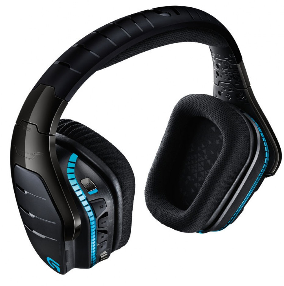 Logitech intros new gaming headphones