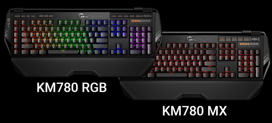 G.SKILL debuts Ripjaws KM780 series gaming keyboards
