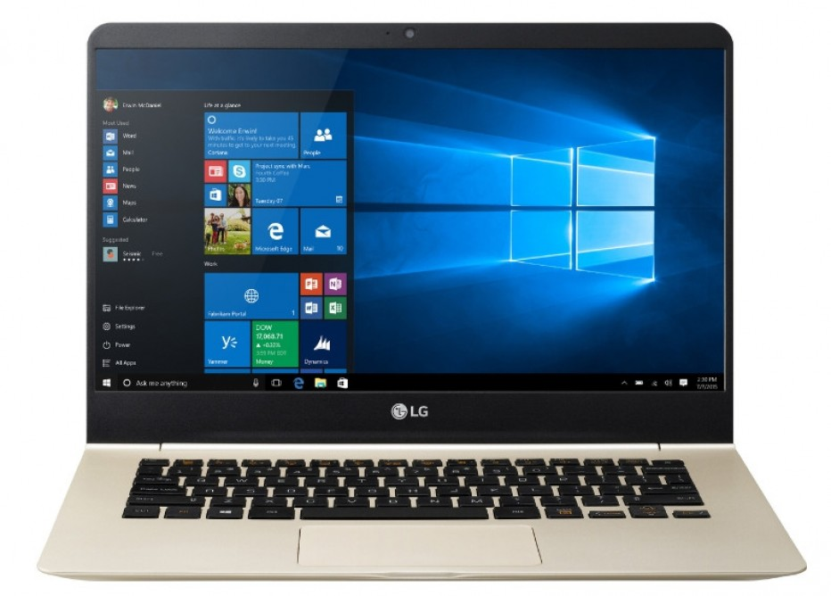 "LG brings ""gram"" notebooks to the USA"