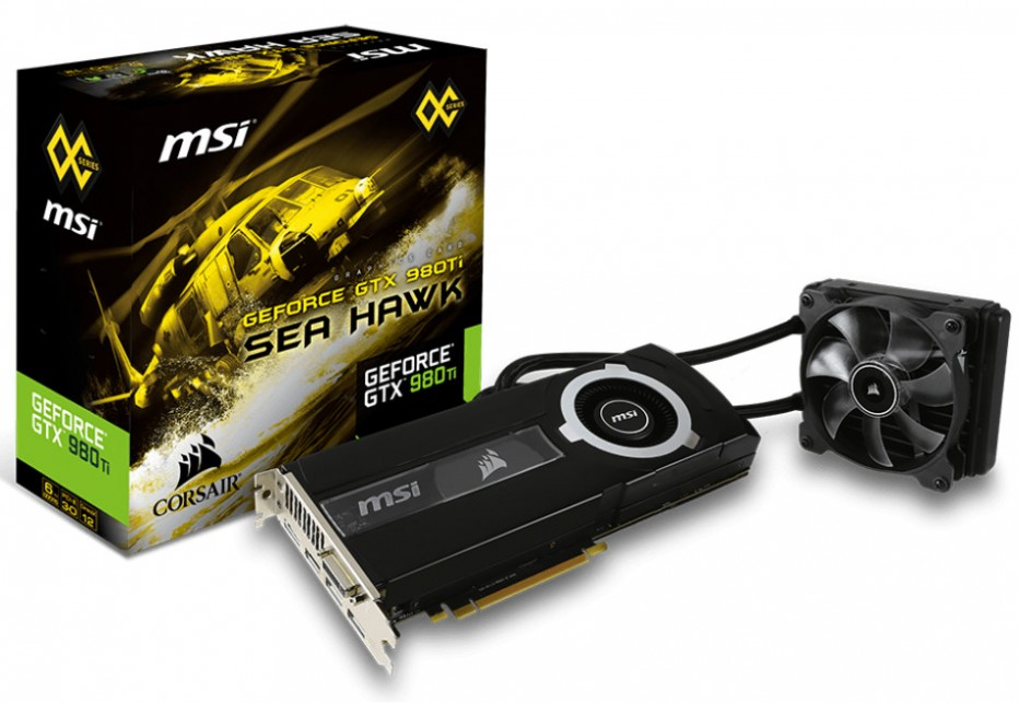 MSI announces GTX 980 Ti Sea Hawk graphics card