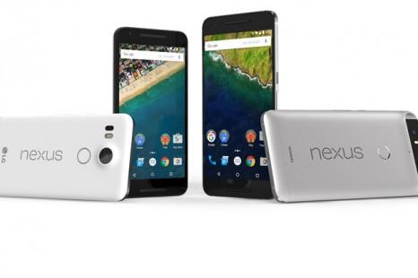 Google presents Nexus 5X and Nexus 6P smartphones