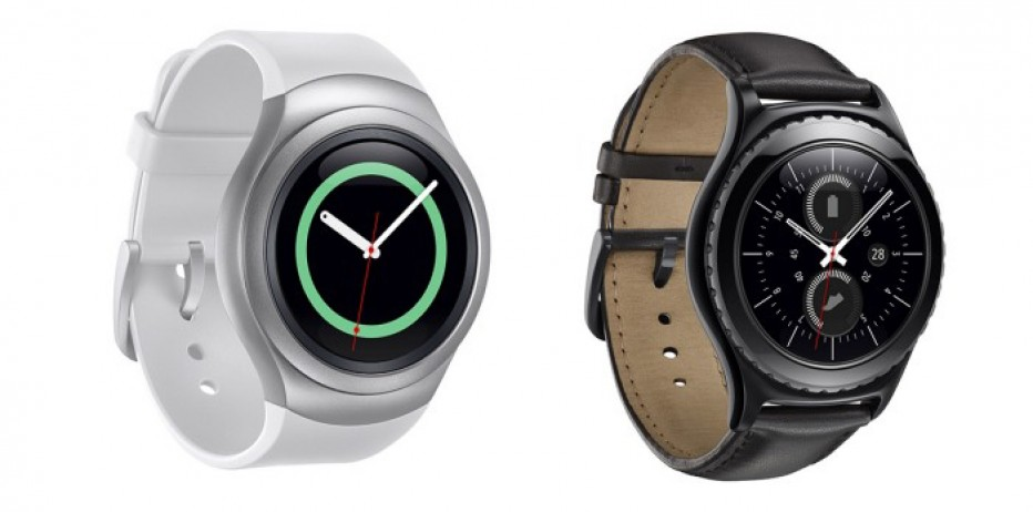 Samsung presents Gear S2 and Gear S2 Classic smartwatches