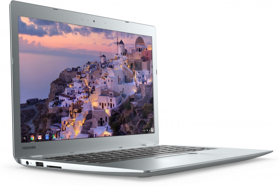 Toshiba presents new Chromebooks