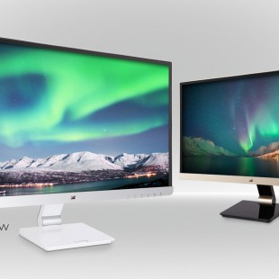 ViewSonic presents eye-caring 25-inch monitors