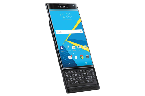 BlackBerry accidentally lists Priv smartphone specs