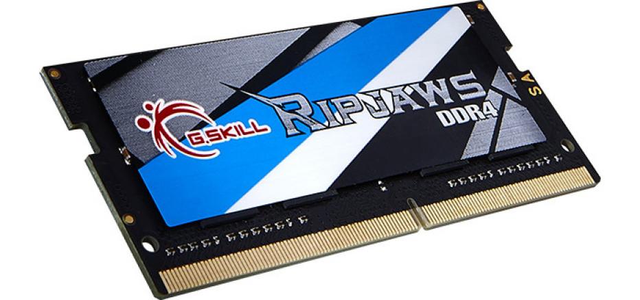G.SKILL debuts Ripjaws DDR4 SO-DIMM memory