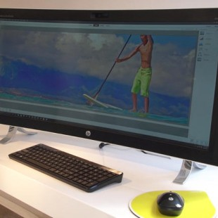 HP Envy is a curved all-in-one computer