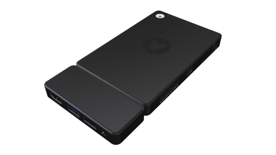 Kangaroo is a smartphone-sized desktop PC
