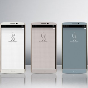 LG intros V10 smartphone with two displays