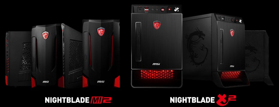 MSI debuts two new gaming desktop computers