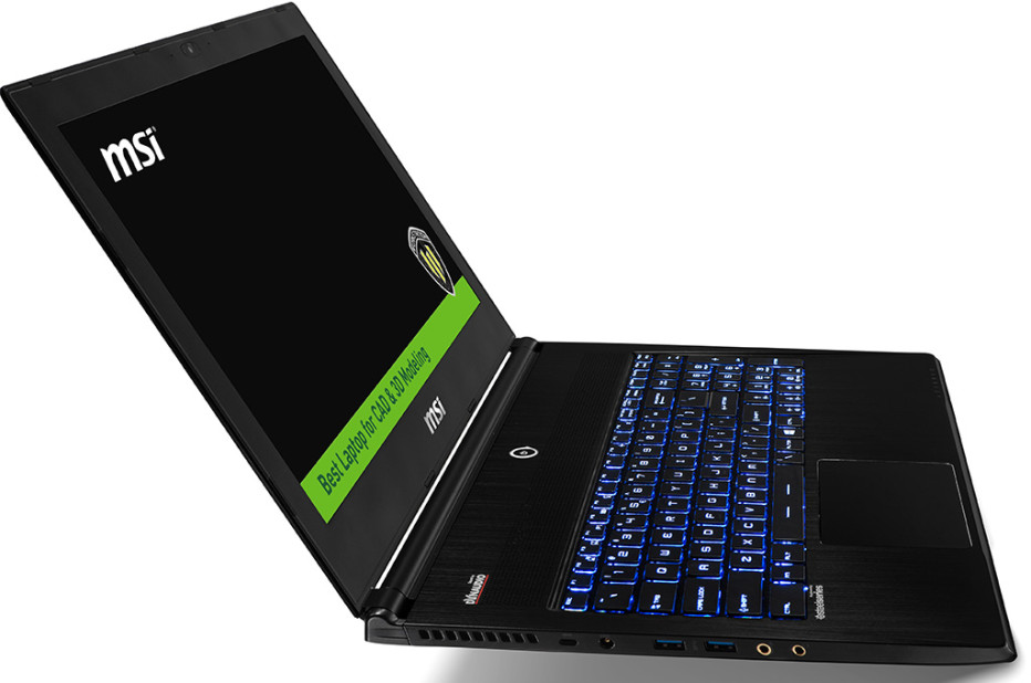 MSI outs WS60 mobile workstation line with Skylake processors