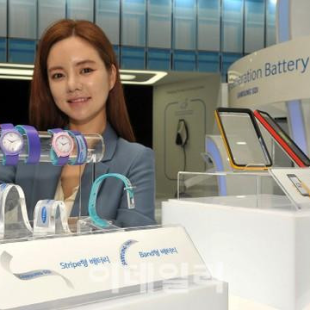 Samsung creates flexible batteries