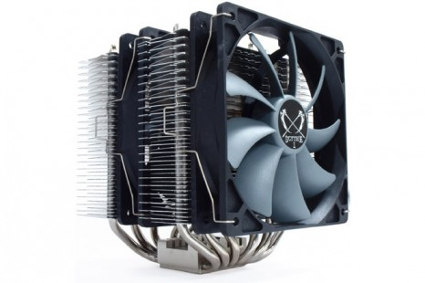Scythe presents quiet CPU cooler called Fuma