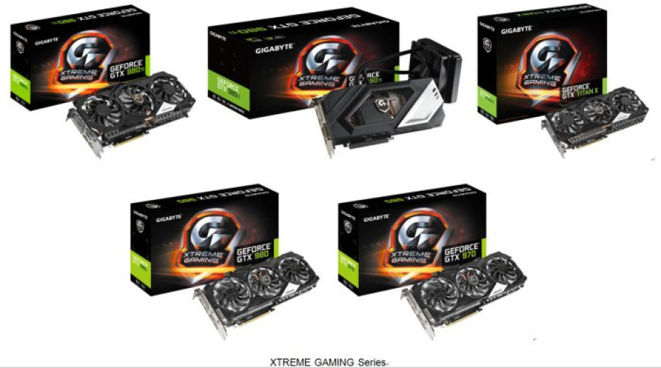 Gigabyte launches more XTREME GAMING video cards