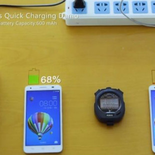 Huawei unveils new quick charge battery