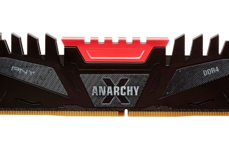 PNY gets into DDR4 with Anarchy X memory