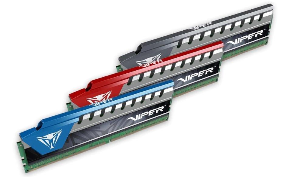 Patriot unveils Viper Elite DDR4 memory