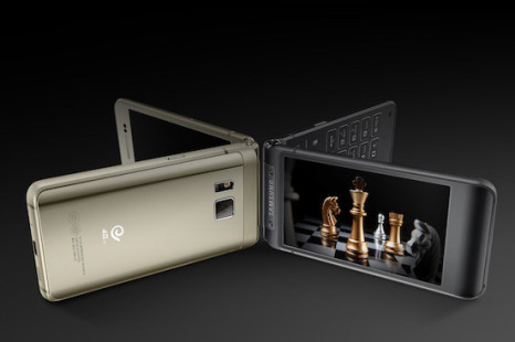 Samsung debuts its high-end clamshell smartphone