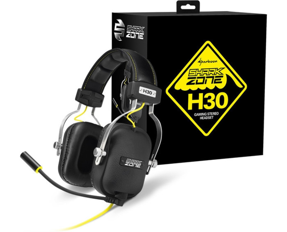 Sharkoon presents the SharkZone H30 headset