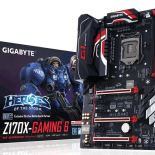 Gigabyte presents Z170X-Gaming 6 motherboard