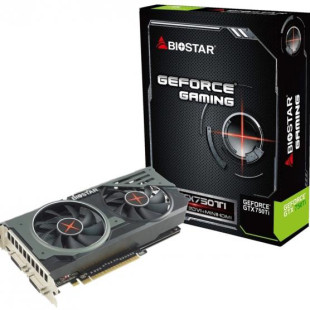 BIOSTAR announces new GeForce GTX 750 Ti video card